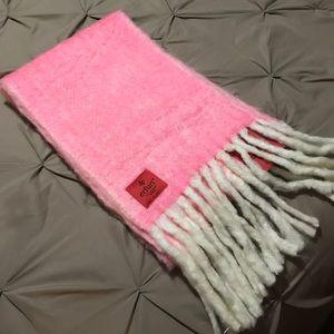Pink/rose Erfurt wool scarf